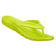 Beaching It Sandals (Lime) - Women's Sandals - 9.0