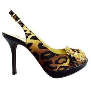 Regina Shoes (Black/Brown) - Women's Shoes - 9.0 W