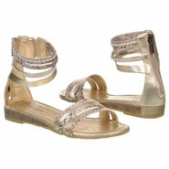 Elettra Tod/Pre Sandals (Gold) - Kids' Sandals - 2