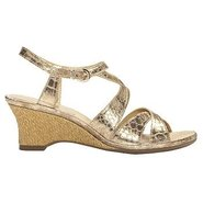 Bakers Dozen Sandals (Gold Snake) - Women's Sandal