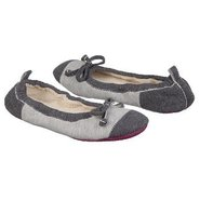 Easy Spa Ballet Shoes (Charcoal Jersey) - Women&#39;s 
