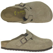 Boston Sandals (Taupe Suede) - Men's Sandals - 47.