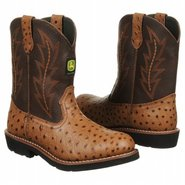 Wellington Grd Boots (Brown Ostrich) - Kids' Boots