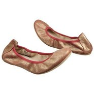 Tina Shoes (Red Metallic Leather) - Women&#39;s Shoes 