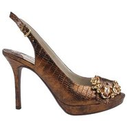 Regina Shoes (Bronze) - Women's Shoes - 9.0 M