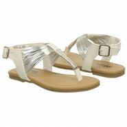 Harlow Tod/Pre Sandals (White/Silver) - Kids&#39; Sand