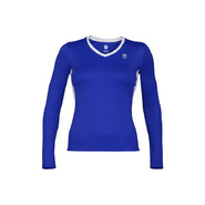 Women&#39;s Long Sleeve Accessories (Pigment Blue/Whit