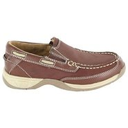 Lakeside Slip Jr Pre/Grd Shoes (Cognac) - Kids&#39; Sh