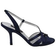 Vega Shoes (Navy Satin) - Women's Shoes - 6.5 M