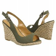 Day Tona Shoes (Olive Fabric) - Women's Shoes - 6.