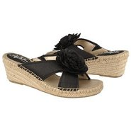 Bloom Sandals (Black Dma Silk Fabri) - Women's San