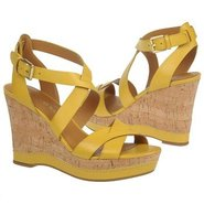 Sophie Shoes (Bright Yellow Leathe) - Women&#39;s Shoe