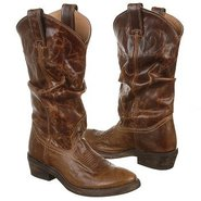 Casual Western High Boots (Vintage Tan) - Women's