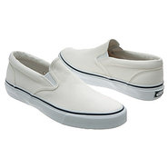 Striper Slip-On Shoes (White) - Men&#39;s Shoes - 7.5 