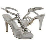 Shine Shoes (Diamond White Satin) - Women's Weddin