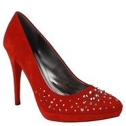 Starlet Shoes (Red Suede) - Women's Shoes - 8.5 M