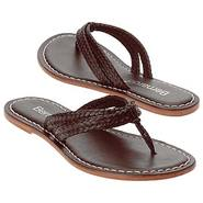 Miami Woven Sandals (Chocolate) - Women&#39;s Sandals 
