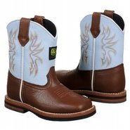 Wellington Tod Boots (Brown/Blue) - Kids' Boots -