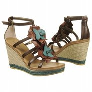 Kishnel Sandals (Brown/Turquoise) - Women's Sandal
