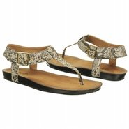 Lynx Charm Sandals (Brown Snake Print) - Women's S