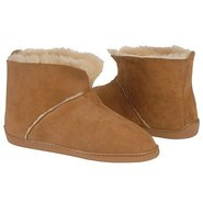 Sheepskin Ankle Boot Shoes (Golden Tan Sheepskin)