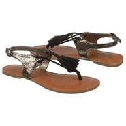 Sentosa Sandals (Black Metallic) - Women's Sandals