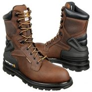 8  Work Insulated Boots (Brown Pebble) - Men's Boo