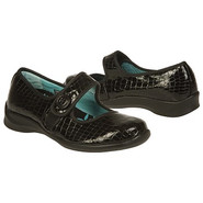 Lucy Shoes (Black Patent Croc) - Women's Shoes - 9