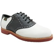 Enfield Pre/Grd Shoes (Black/White) - Kids' Shoes