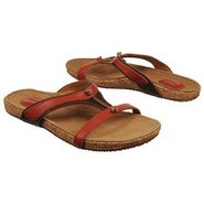 Somersworth Slide Sandals (Red/Dark Brown) - Women