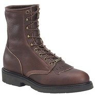 8  Work Lacer Boots (Black Walnut) - Men's Boots -