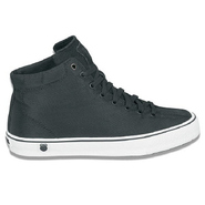 Clean Laguna High Top Shoes (Black/White) - Men's