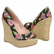 Valll Shoes (Black Multi Floral) - Women's Shoes -