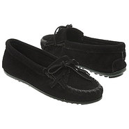 Kilty Suede Moc Shoes (Black) - Women's Shoes - 5.