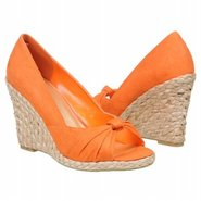 Dandi Lion Shoes (Bright Orange Canvas) - Women's