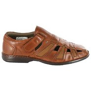 Banyan Sandals (Cognac) - Men's Sandals - 14.0 M