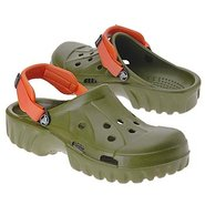 Off Road Shoes (Army Green/Orange) - Men's Shoes -