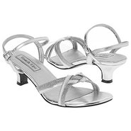 Melanie Shoes (Silver Metallic) - Women's Wedding