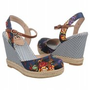 Smirk Shoes (Navy Floral) - Women's Shoes - 9.0 M