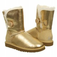Bailey Button Boots (Gold) - Women's Boots - 10.0
