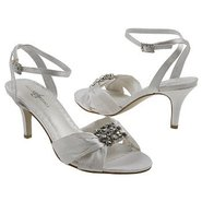 Darling Shoes (Diamond White Satin) - Women&#39;s Wedd