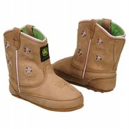 Wellington Inf Shoes (Tan Flower) - Kids' Shoes -