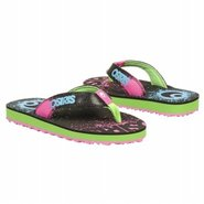 O Sandal Paint Splatter Sandals (Blk/Blue/Pink/Gre