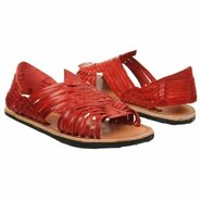 Lauren Sandals (Red Leather) - Women&#39;s Sandals - 1