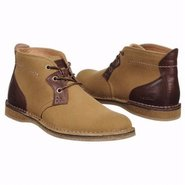 Santino Leather Chukka Boots (Medium Brown) - Men'