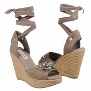 Chryslis Sandals (Taupe Suede) - Women&#39;s Sandals -
