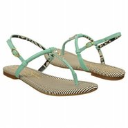Rosetta Sandals (Pastel Green Leather) - Women's S