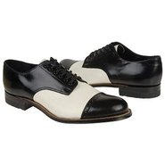 Madison Shoes (Blk Kid W/Wht Liz Pr) - Men's Shoes