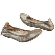 Tina Shoes (Silver Metallic Leat) - Women's Shoes