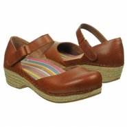 Jute Maryjane Shoes (Whiskey Burnished) - Women's
